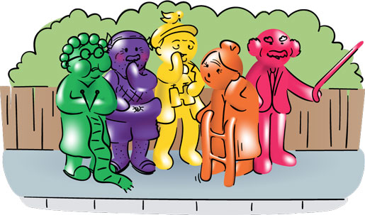 Fruit flavoured jelly baby sweets